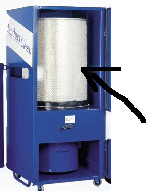 Cartridge Filter Hepa