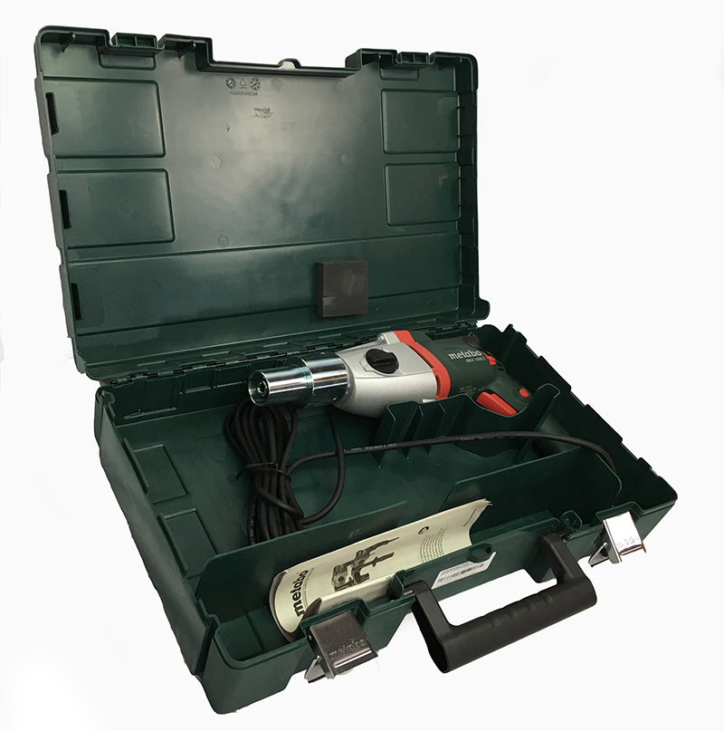 PD4 duct cleaning powerdrill with transport box