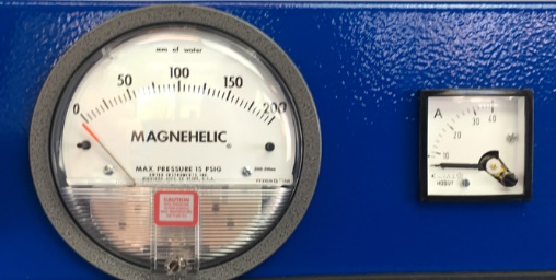 Vaccum and Ampere Meter